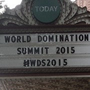WDS 2015 sign