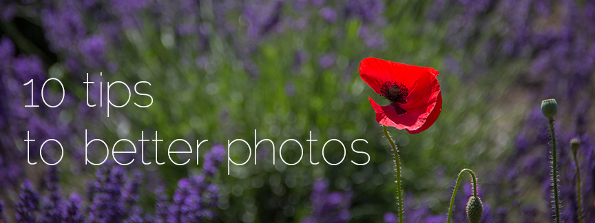 10 tips to better photos
