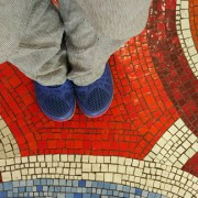 Red and Blue Feet