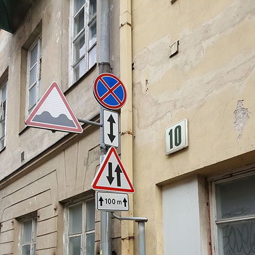 Europe Signs Alley
